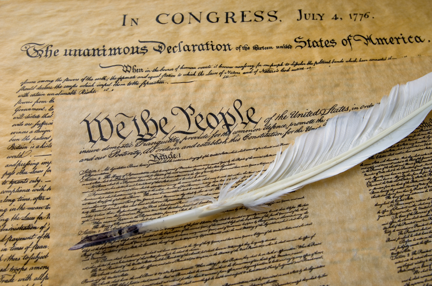 Declaration of Independence and Constitution