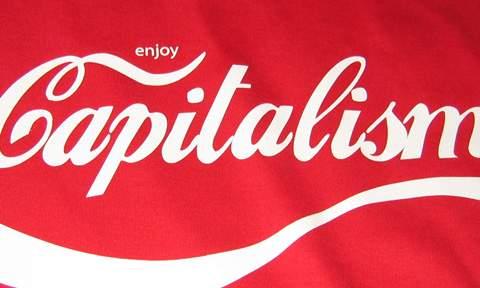 Enjoy capitalism - un bon coca et ça repart !