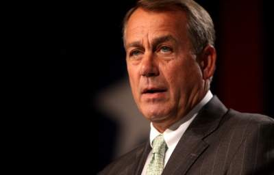 John Boehner Says Unemployed People 'Just Sit Around,' Don't Think They Have to Work