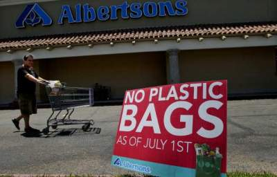 100th Plastic Bag Ban Passed in California