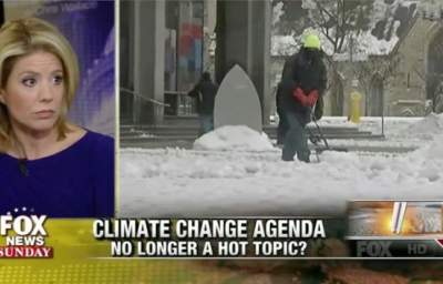 Fox News Discusses Climate Change. Insanity Ensues.