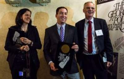 'This Award is for Snowden:' Greenwald, Poitras Accept Polk Honor for Exposing NSA Surveillance