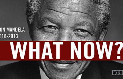To Honor Nelson Mandela's Legacy, We Must...