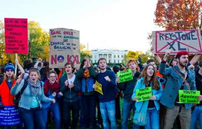 Breaking: 400+ Youth Arrested at White House Protesting Keystone XL Pipeline
