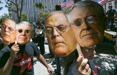 GOP's Senate Hopes Energized by Koch Network Ad Blitz