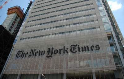Editorial Position of the New York Times: Thumbs Up for Gaza Slaughter