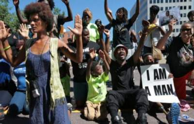 Activist: For a New Generation, Ferguson Marks Historic Nonviolent Resistance to Police Repression