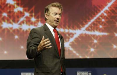 Rand Paul Decides to Pick a Fight with Hillary Clinton Over Climate Change