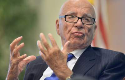 Rupert Murdoch Says Climate Change Should be Approached With Great Skepticism