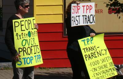 Critical Moment to Stop the TPP and Other Rigged Trade Agreements