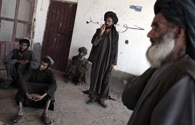 Taliban Waiting to Take Over from the US