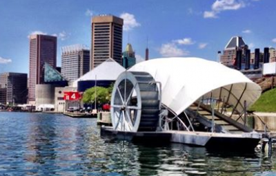 How a Solar-Powered Water Wheel Can Clean 50,000 Pounds of Trash Per Day