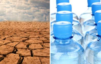Precious Water Bottled and Shipped Out of Drought-Ridden California