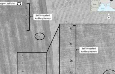 Satellite Images of Alleged Russian Artillery in Ukraine Come A-Cropper