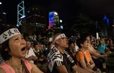 "Hong Kong ""Occupy Central"" Protests Call for Political Freedom after China Rejects Open Elections"