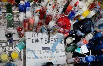 'I Can't Breathe:' NYC March over Chokehold Death of Eric Garner Protests Police Violence Nationwide