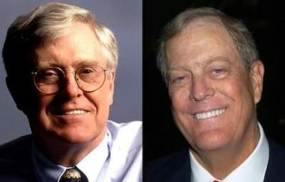 Charles Koch's Long History of Education Funding