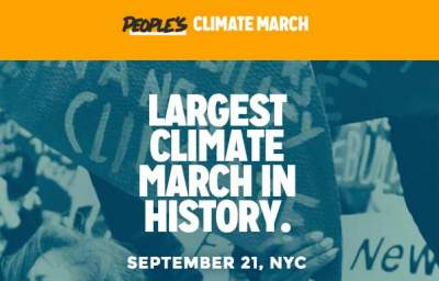 A People's Climate Movement: Indigenous, Labor, Faith Groups Prepare for Historic March