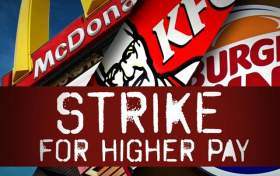 Fast Food Workers Will Now Use Civil Disobedience in Their Fight For Higher Wages
