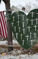 One Year Later, A Somber Remembrance of Sandy Hook Shooting Victims