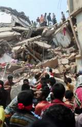 Worker Found Alive in Collapsed Bangladesh Garment Factory
