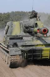 Russian-Controlled Tanks from Crimea Head into Ukraine