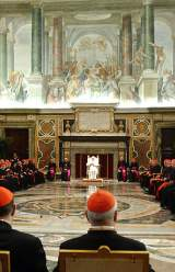 Slow Changes in the Vatican Four Papacies Later