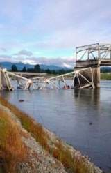 Busy Freeway Bridge Collapses