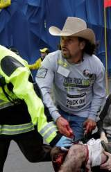 The Man in the Cowboy Hat: A Hero of the Boston Bombings