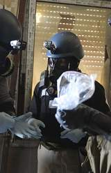 Chemical Weapons to Be Destroyed in Syria