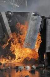 Protests in Kiev Turn Dangerous