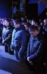 Ukraine detains riot police over 'murders'