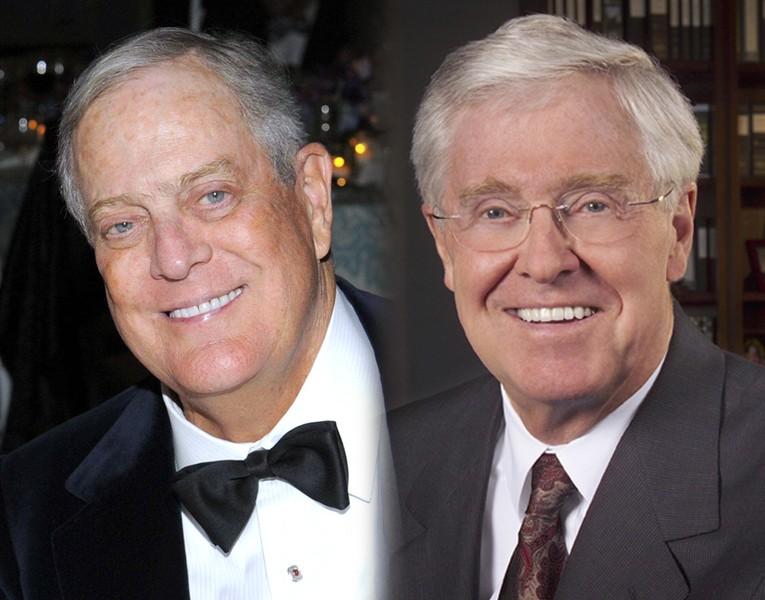 Charles and David Koch