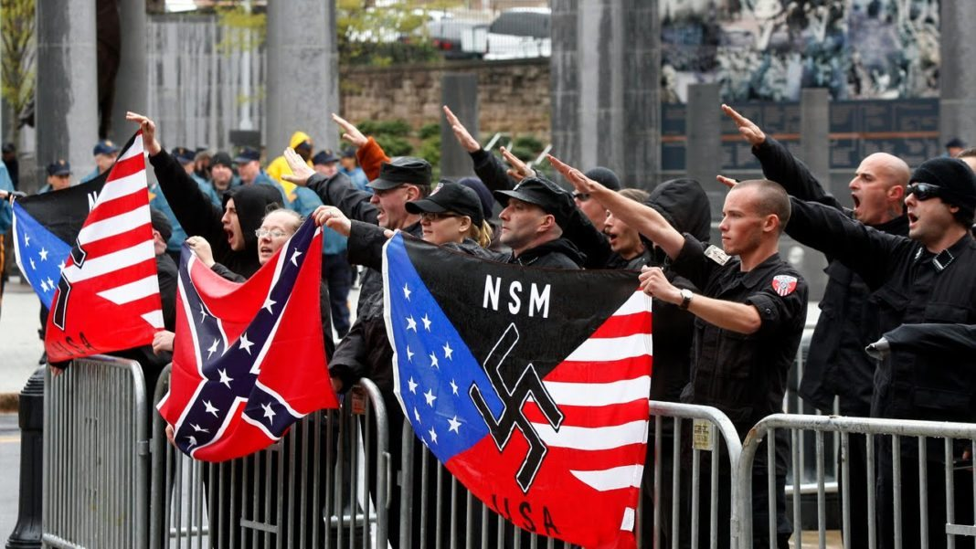 Image result for trump and neo-nazis