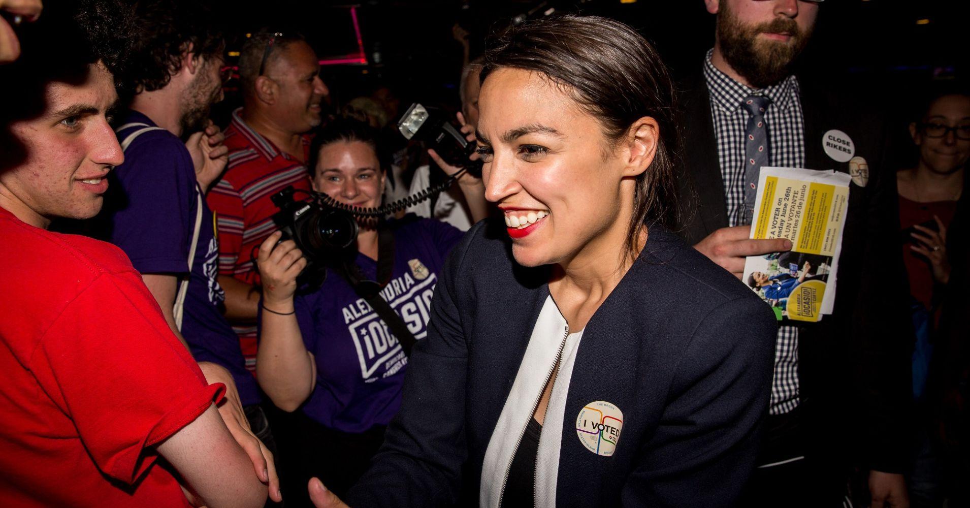 Alexandria Ocasio-Cortez spoke with UK's Jeremy Corbyn on the phone