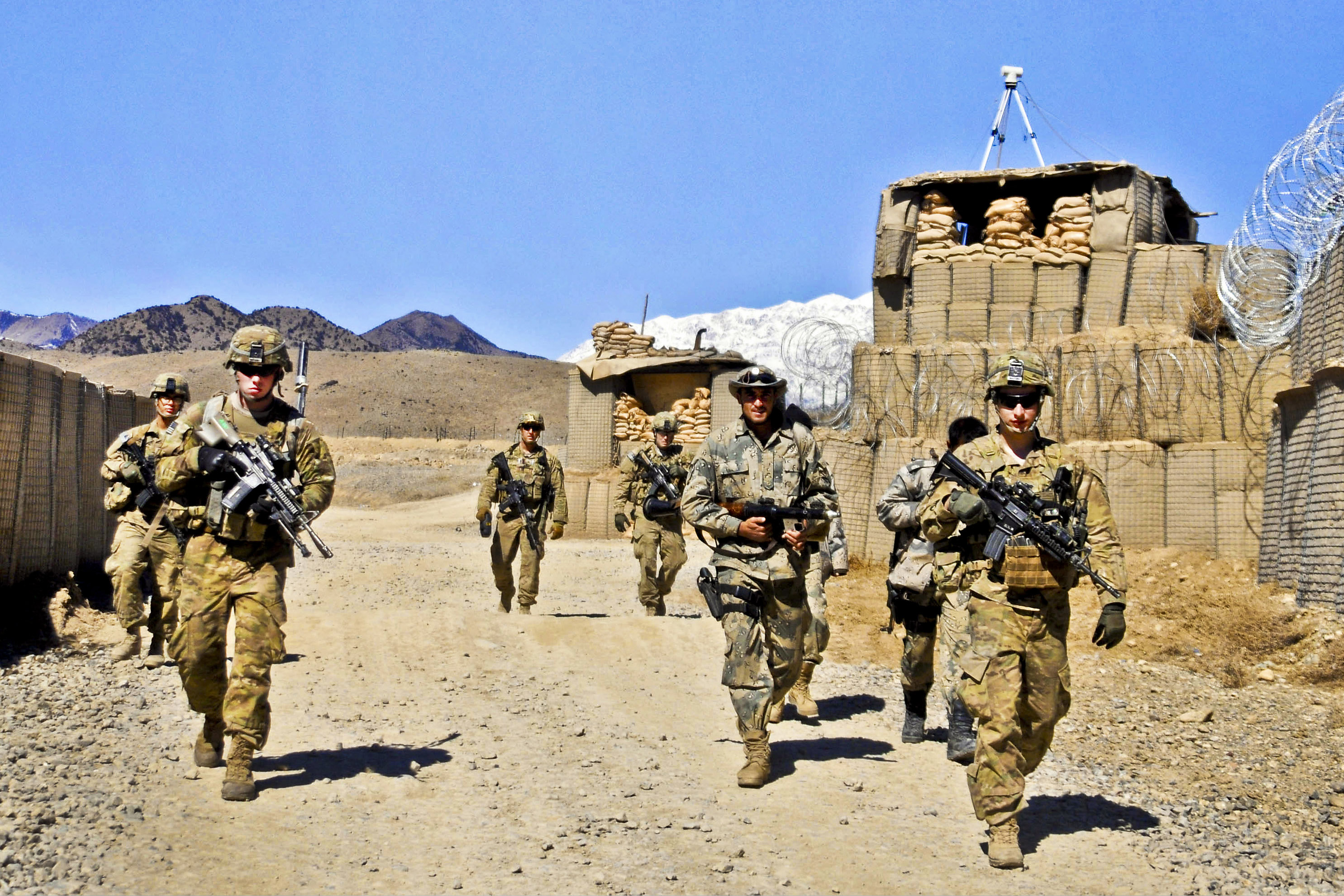 How and what fought in Afghanistan